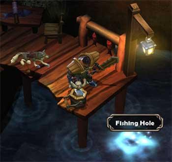 Torchlightの魚釣り
